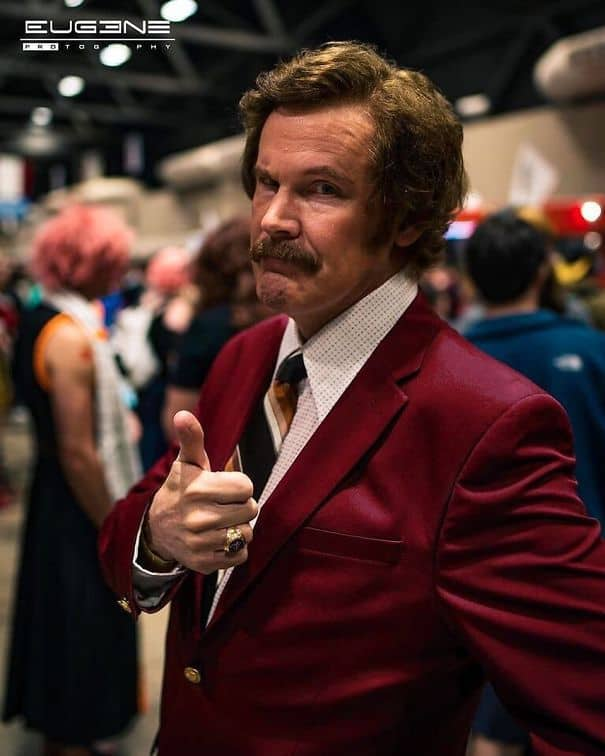 Ron Burgundy Cosplay